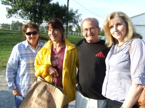 Mary Gaffney, Mary McKinley, Jim Gaffney and Karen Curtis(my mom!).
